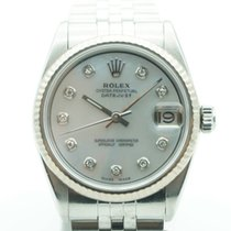 Rolex Lady-Datejust 31mm Stainless Steel MOP Diamond Dial Jubilee