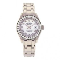 Rolex Datejust Pearlmaster 18K White Gold Swiss Automatic...