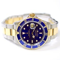 Rolex Submariner Oyster Perpetual 40mm Stainless Steel and 18K...