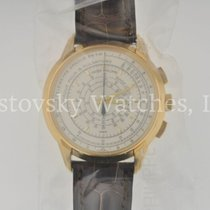 Patek Philippe Chronograph Yellow gold 40mm Silver United States of America, California, Beverly Hills