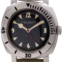 Nivada 38mm Automatic 1960 pre-owned
