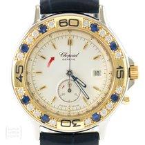 Chopard Uhr Mille Miglia Lady Diamonds Saphire Quarz