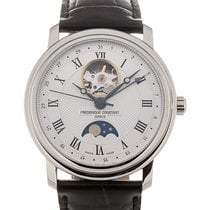 Frederique Constant Classics 40mm Moonphase Silver Dial