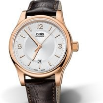 Oris Classic Steel 42mm Silver No numerals United States of America, New York, New York City