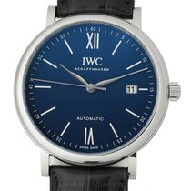 IWC Steel Automatic Blue 40mm new Portofino Automatic