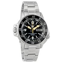 Seiko 5 Sport Land Shark Automatic Stainless Steel Mens Watch
