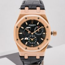Audemars Piguet 26120OR.OO.D002CR.01 Rose gold 2016 Royal Oak Dual Time 39mm pre-owned United States of America, Massachusetts, Boston
