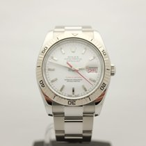 Rolex Datejust Turn-O-Graph Steel 36mm White Canada, Montreal