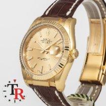 Rolex Datejust Zuto zlato 36mm Bez brojeva