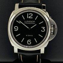 Panerai Luminor Base 8 Days Steel 44mm Black United States of America, New York, New York
