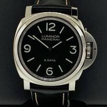 Panerai Luminor Base 8 Days Steel 44mm Black United States of America, New York, New York