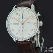 IWC Portuguese Chronograph Staal 40.9mm Wit Nederland, Maastricht