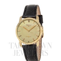 Longines Yellow gold 33mm Manual winding pre-owned United States of America, New York, Hartsdale