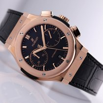 Hublot Classic Fusion Chronograph Rose gold 45mm Black No numerals United States of America, New Jersey, Princeton