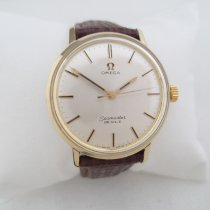Omega Seamaster DeVille Gold/Steel 34mm White No numerals