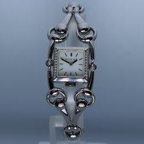 Gucci Aço Quartzo 116.5 Gucci Signoria Diamonds usado
