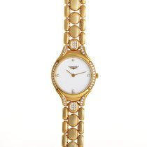 Longines Equestrian pre-owned White Yellow gold