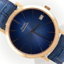 Piaget Rose gold Automatic Blue 40mm pre-owned Altiplano