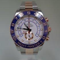Rolex Yacht-Master II 116681 Хорошее Золото/Cталь 44mm Автоподзавод