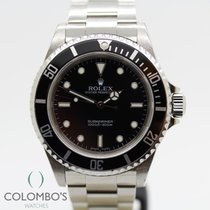Rolex Submariner (No Date) Acero 40mm Negro Sin cifras España, Granollers, colomboswatches.com