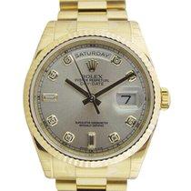 Rolex Day-Date 36 neu Uhr mit Original-Box und Original-Papieren