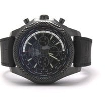 Breitling Bentley B05 Unitime pre-owned 49mm Black Chronograph Date Rubber