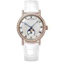 Breguet Classique Rose gold 30mm Mother of pearl Roman numerals United Kingdom, London
