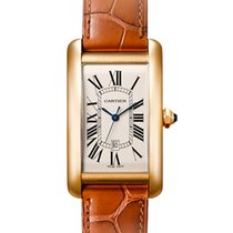 Cartier Tank Américaine W2603156 Very good Yellow gold 45.1mm Automatic