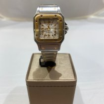 Cartier Santos Galbée 2423 Very good Gold/Steel 24mm Automatic