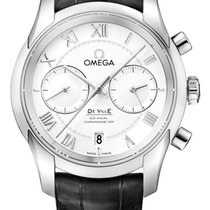 Omega De Ville Co-Axial new Automatic Chronograph Watch with original box