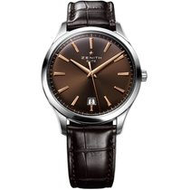 Zenith Captain Central Second new 40mm Steel