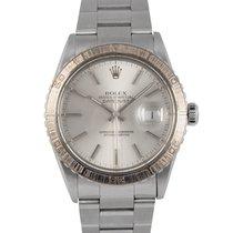 Rolex Datejust Steel Turnograph Silver Dial Ref: 16250