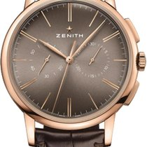 Zenith Elite Chronograph Classic Rose gold 42mm Bronze United States of America, New York, Airmont