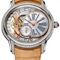 Audemars Piguet Millenary Ladies White gold 39.5mm Mother of pearl Roman numerals