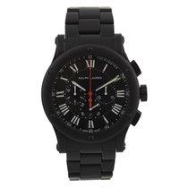Ralph Lauren Sporting Chronograph Black Matte Ceramic R0236600...