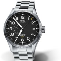 Oris Big Crown ProPilot GMT 01 748 7710 4164-07 8 22 19 Oris SMALL SECOND GMT Nero nouveau