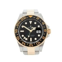Rolex GMT-Master II Stainless Steel & 18k Yellow Gold Gents...