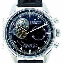 Zenith stainless steel El Primero Chronomaster