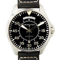 Hamilton Khaki King Scuba Stainless Steel Black Automatic...