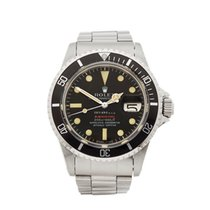 Rolex Submariner Tiffany & Co Single Red Stainless Steel Gents...