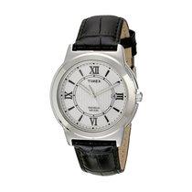 Timex T2P5209J Main Street Men's Textured Leather Watch