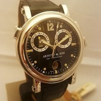 Arnold & Son Steel 42mm Automatic new