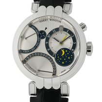 Harry Winston new Automatic 41mm White gold Sapphire Glass