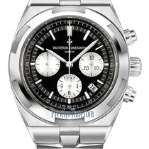 Vacheron Constantin Overseas Chronograph Steel 42.5mm Black United States of America, New York, Airmont