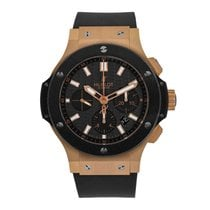 Hublot pre-owned Automatic 44mm Black Sapphire Glass 10 ATM