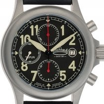Askania Chronograph 42mm Automatic new Taifun Black