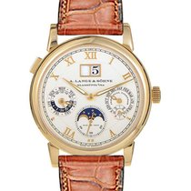 A. Lange & Söhne Langematik Perpetual pre-owned 38.5mm Yellow gold