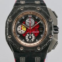 Audemars Piguet Carbon Automatic Black No numerals 44mm pre-owned Royal Oak Offshore Grand Prix