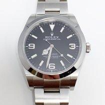Rolex Explorer Steel 39mm Black Arabic numerals United States of America, New York, New York