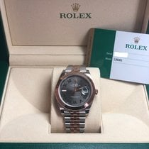 Rolex Rose gold Automatic pre-owned Datejust II